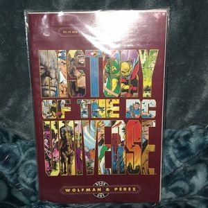 DC History of the DC Universe book one